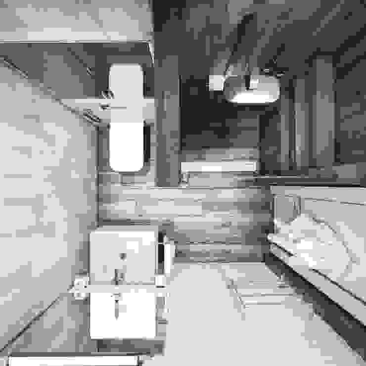 حمام تنفيذ Eclectic DesignStudio,