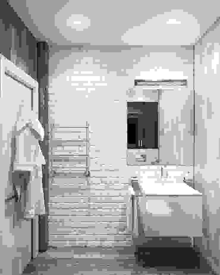 душевая&прихожая Ванная комната в стиле минимализм от Eclectic DesignStudio Минимализм