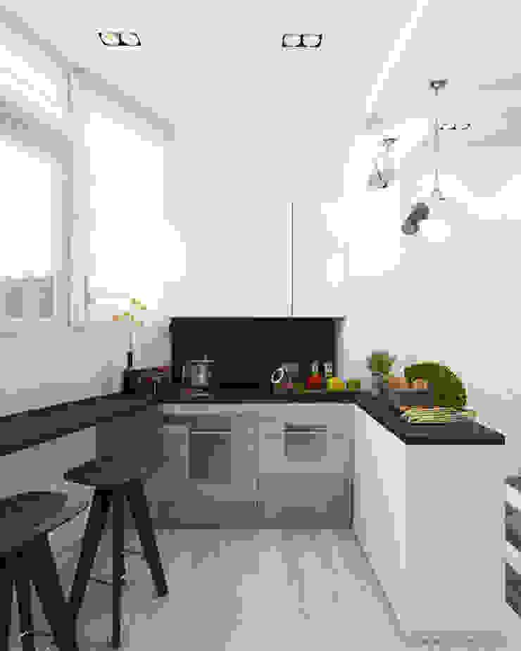 Кухня/столовая Кухня в стиле минимализм от Eclectic DesignStudio Минимализм