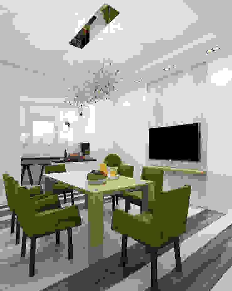 Кухня/столовая Столовая комната в стиле минимализм от Eclectic DesignStudio Минимализм