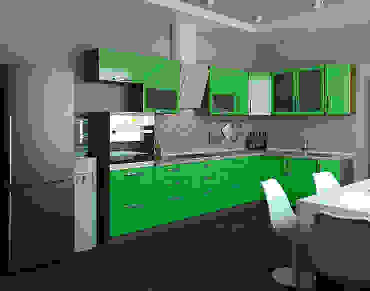 Кухни Кухня в стиле модерн от Чирвин Иван Модерн