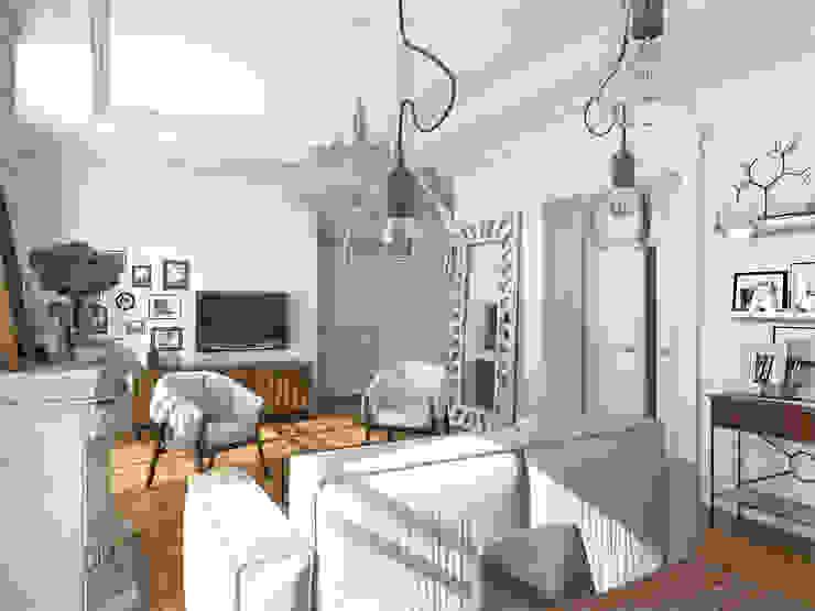 Aleksandra Kostyuchkova Ausgefallene Wohnzimmer