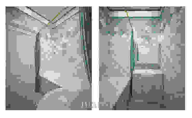 Московский Прованс Ванная комната в стиле кантри от студия Виталии Романовской Кантри