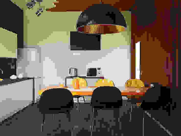 Кухни Кухня в стиле лофт от Чирвин Иван Лофт