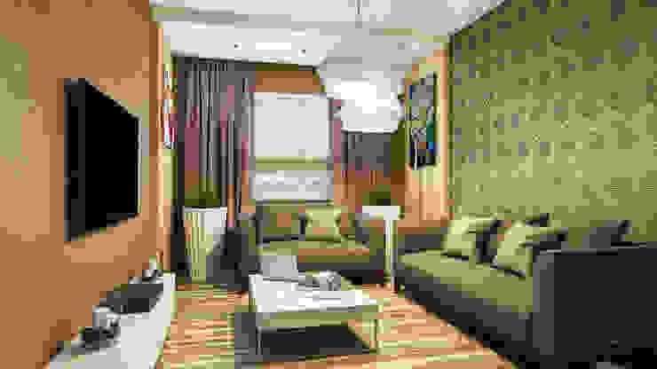 гостиная Гостиные в эклектичном стиле от Eclectic DesignStudio Эклектичный