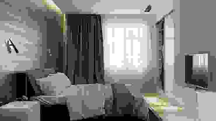 Phòng ngủ phong cách tối giản bởi Kristina Petraitis Design House Tối giản