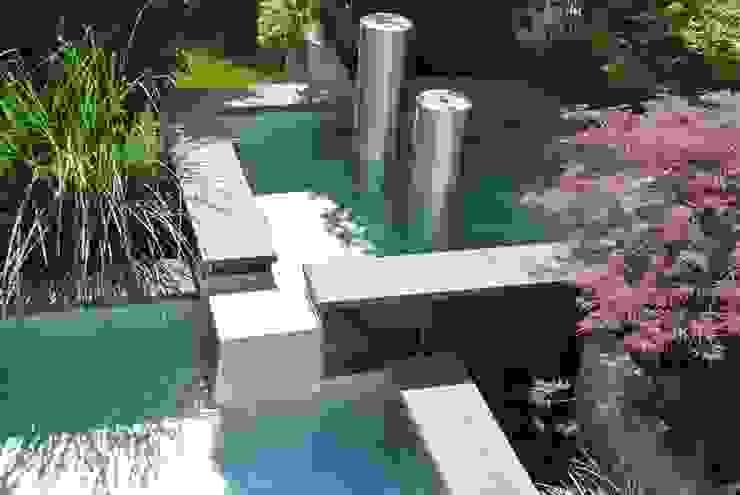 Edelstahl Teichwanne Moderner Garten von Edelstahl Atelier Crouse - individuelle Gartentore Modern