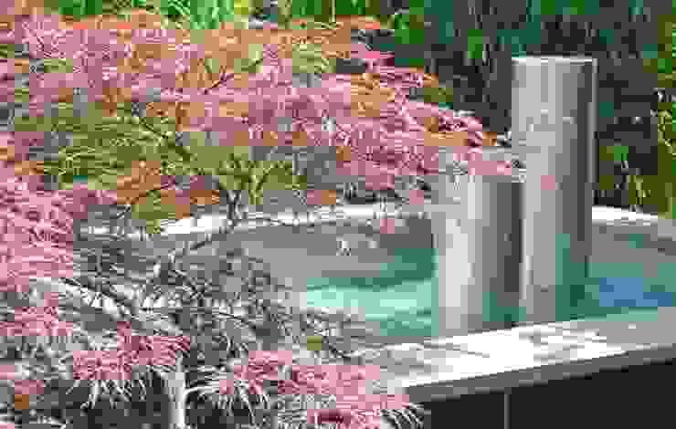 Teichwannen aus Edelstahl Asiatischer Garten von Edelstahl Atelier Crouse - individuelle Gartentore Asiatisch