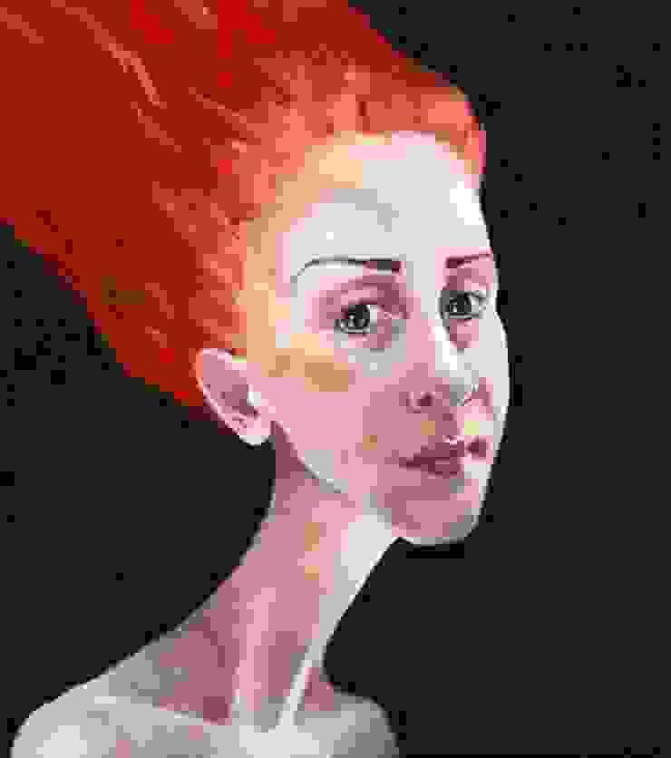Salome Rigvava «Self-Portrait»:  в современный. Автор – NICE CATCH , Модерн