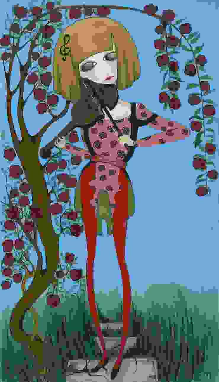 """Sophie Magalashvili «Violin and girl» "":  в современный. Автор – NICE CATCH , Модерн"