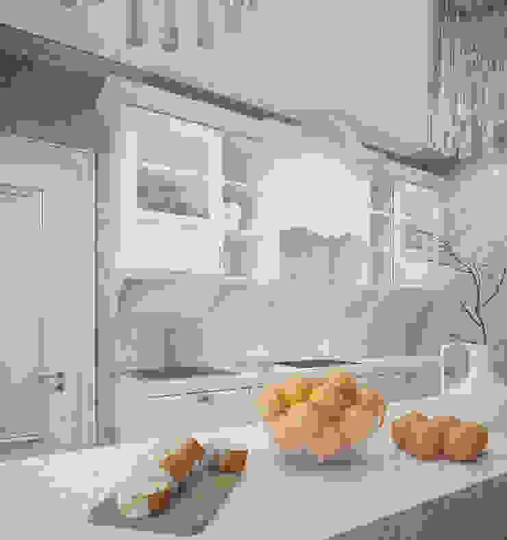 Кухня/столовая в частном доме Кухня в классическом стиле от Eclectic DesignStudio Классический