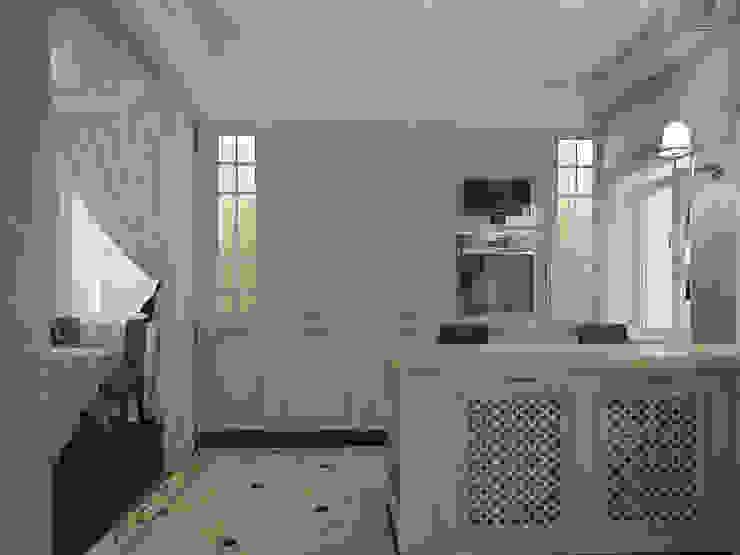 коттедж пос.Кисловка,томск 2014 Кухня в классическом стиле от IDstudio Классический