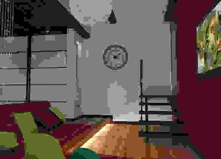 коттедж пос.Кисловка,томск 2014 Медиа комната в классическом стиле от IDstudio Классический