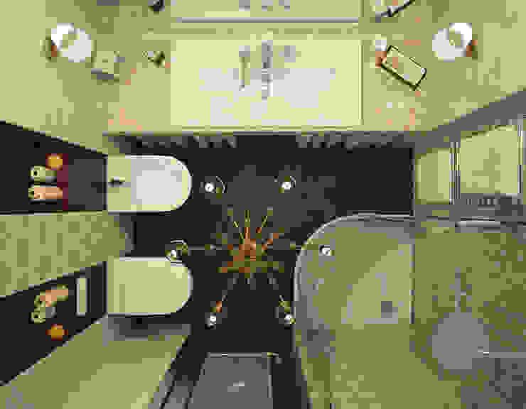 коттедж пос.Кисловка,томск 2014 Ванная в классическом стиле от IDstudio Классический