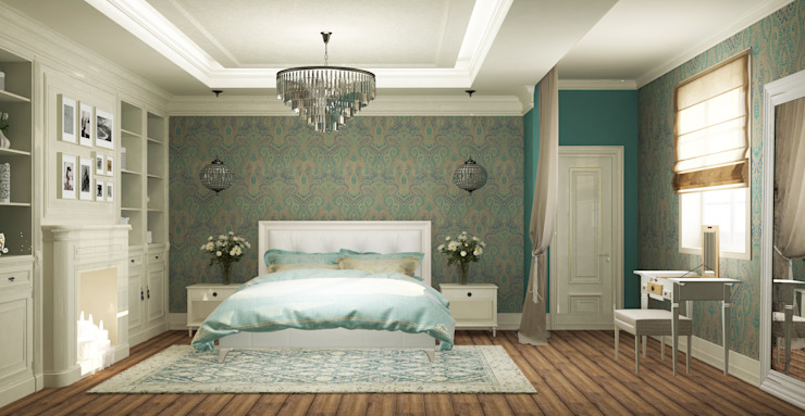 Classic style bedroom by Eclectic DesignStudio Classic