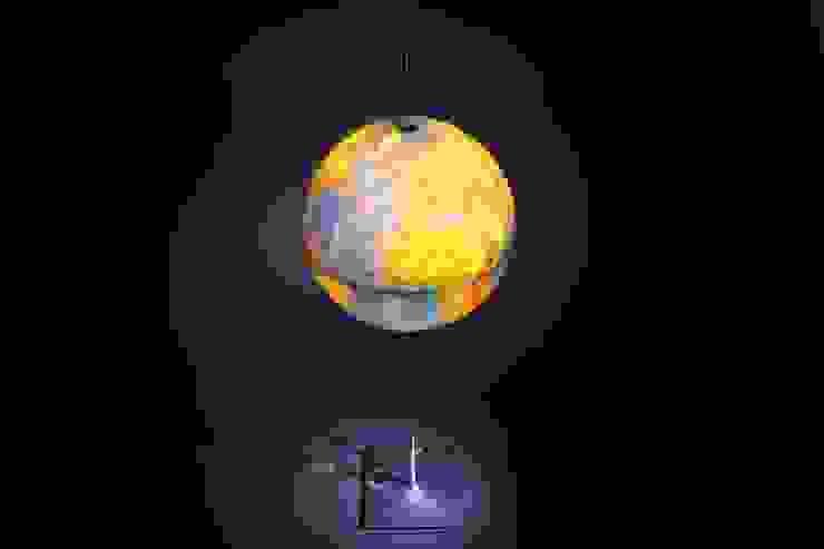 """Настольная лампа"""" Глобус"""" . Фабрика Radius.Материал: сталь, алюминий, пластик. Дизайн Michael Rösing.:  в современный. Автор – NICE CATCH , Модерн"""