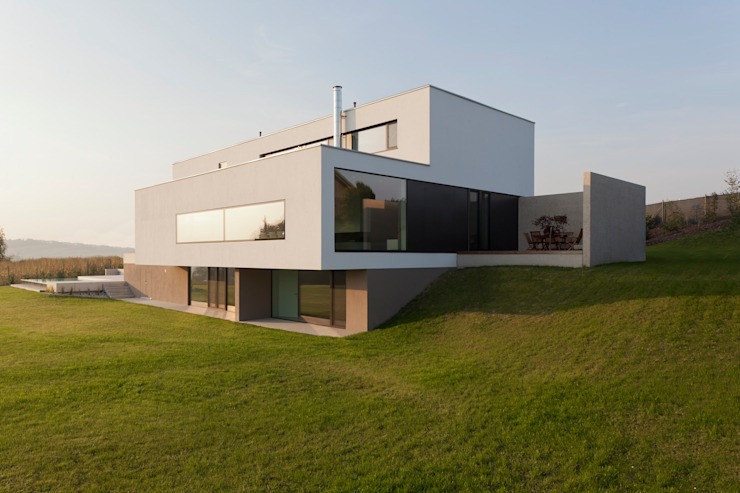 Moderne huizen van Frohring Ablinger Architekten Modern