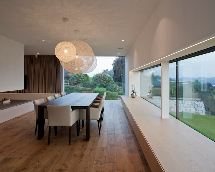 Frohring Ablinger Architekten Comedores de estilo moderno