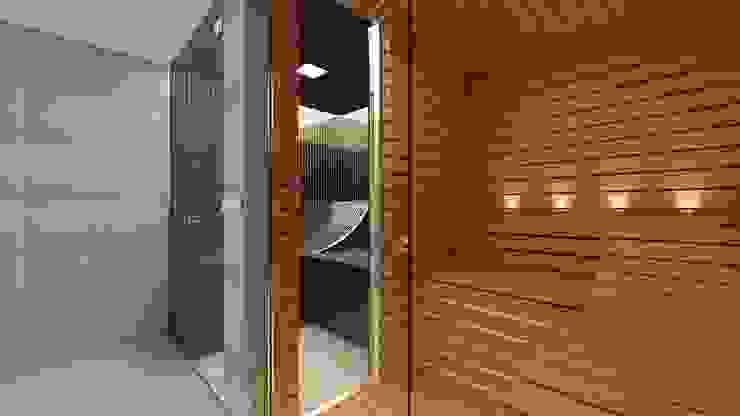 Bespoke Glass steam and sauna - Effegibi Equipment Modern bathroom by Steam and Sauna Innovation Modern