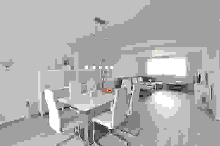 Wohn- Esszimmer der Wohnung 3 nach der Sanierung Maklerkontor Brand & Co. Immobilienmakler GmbH & Co. KG