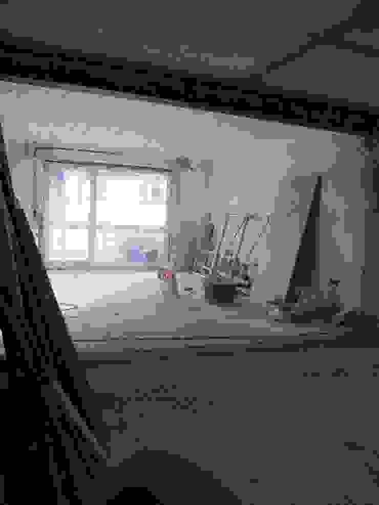 Wohn- Esszimmer der Wohnung 3 während der Sanierung Maklerkontor Brand & Co. Immobilienmakler GmbH & Co. KG