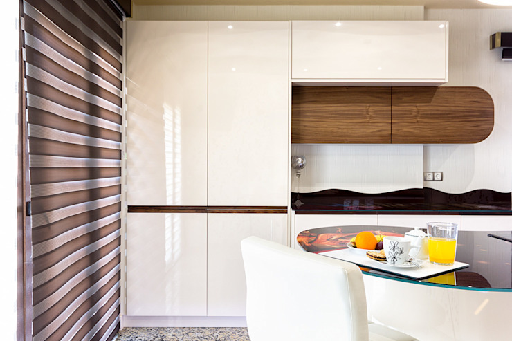 Espacios y Luz Fotografía KitchenCabinets & shelves
