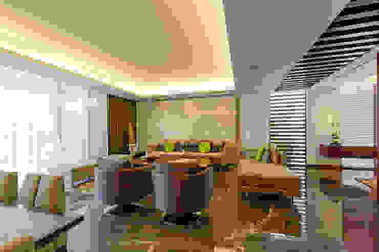 Livings de estilo moderno de Enrique Cabrera Arquitecto Moderno