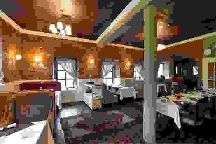 "ресторан ""Долма"" Стены и пол в стиле лофт от ООО 'Студио-ТА' Лофт"