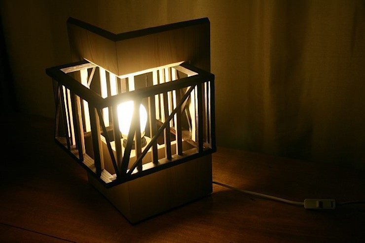 """Lampa """"Touch of Black"""" od hello Re Industrialny"""