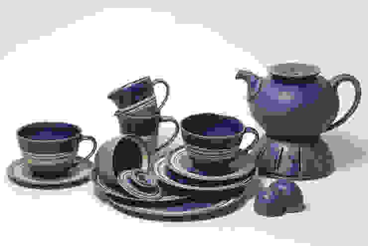 Landhaus Geschirr Blau von Keramikwerkstatt Susanne Behrens Landhaus