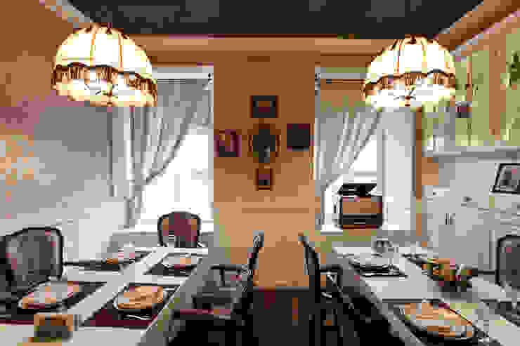 ресторан <q>Долма</q> Стены и пол в стиле лофт от ООО 'Студио-ТА' Лофт