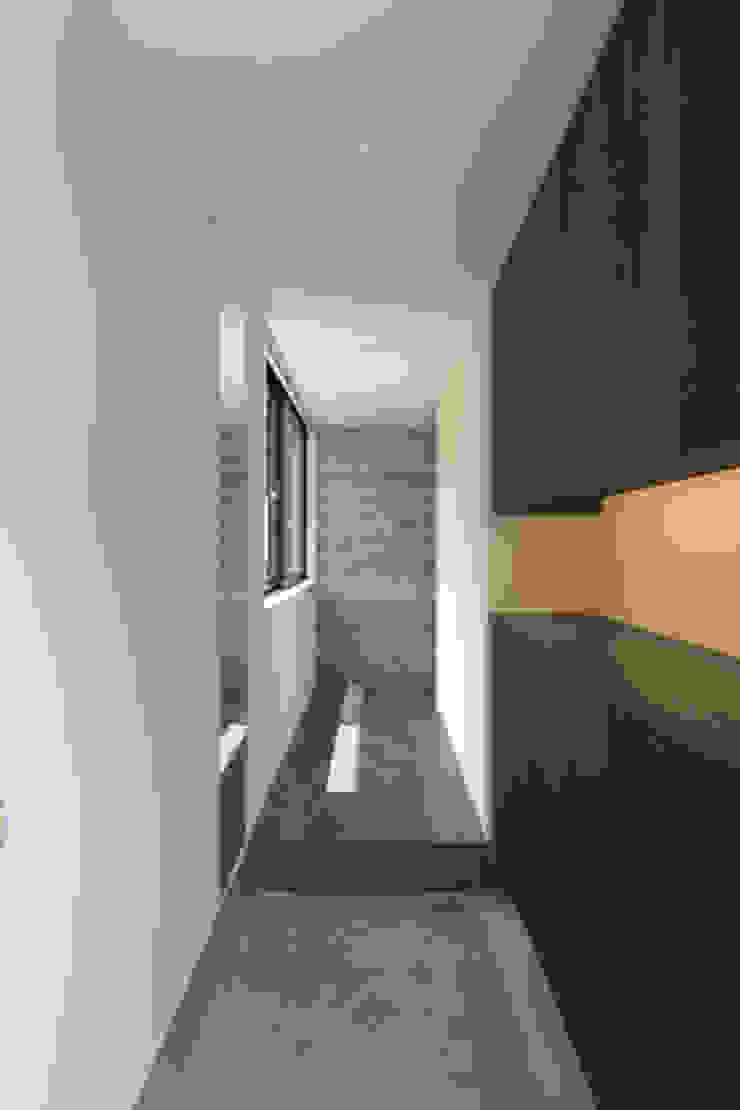 wedge モダンスタイルの 玄関&廊下&階段 の tentline(テントライン) モダン