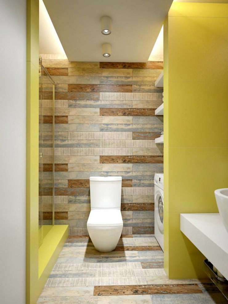 YOUR PROJECT Industrial style bathrooms