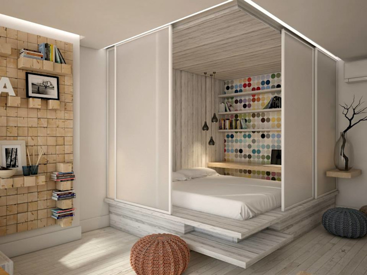 Chambre de style  par YOUR PROJECT, Industriel