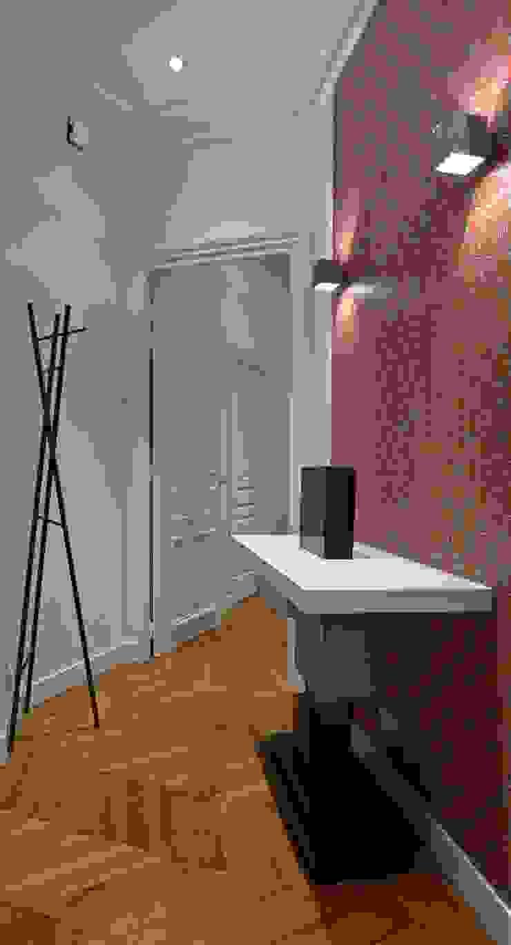 Papier Peint Entree Moderne papier peint / console couloir, entrée, escaliers modernes