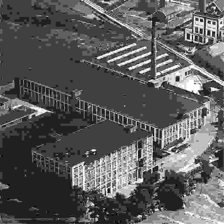 Luchtfoto oude situatie van IAA Architecten Industrieel