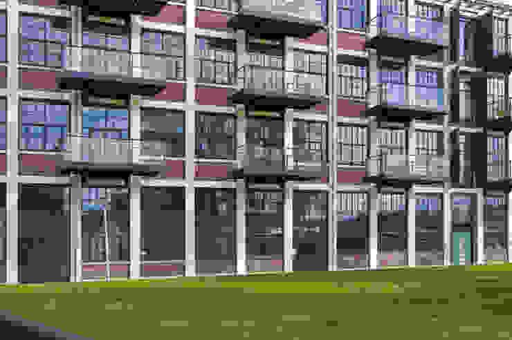 Gevel nieuwe situatie van IAA Architecten Industrieel