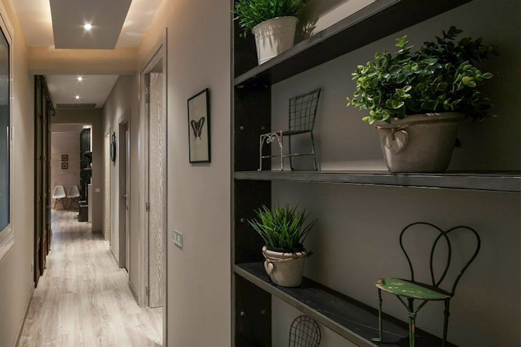 Modern Corridor, Hallway and Staircase by Time2dsign Modern