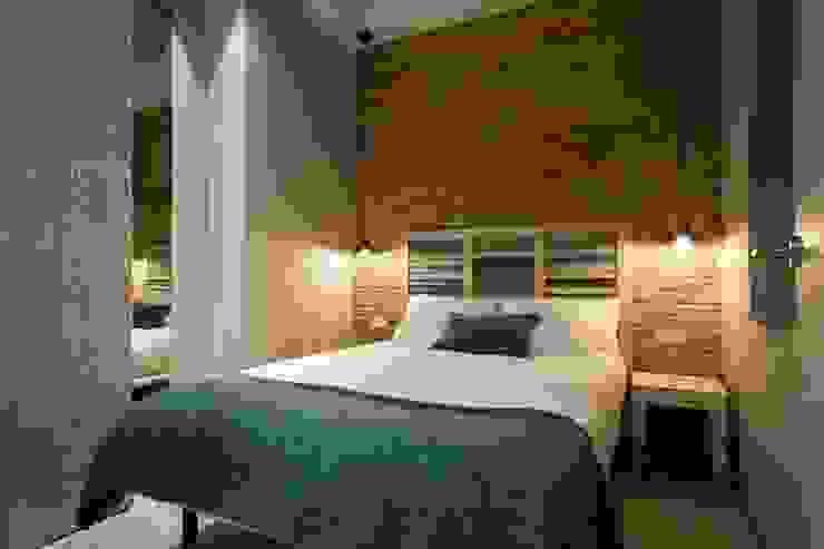Habitación 2 Dormitorios de estilo moderno de Time2dsign Moderno