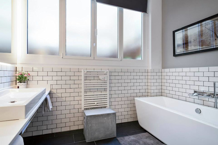 Baño Suite Time2dsign Baños de estilo moderno