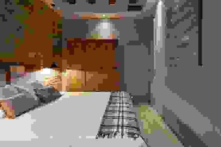 Habitación suite principal Time2dsign Dormitorios de estilo moderno