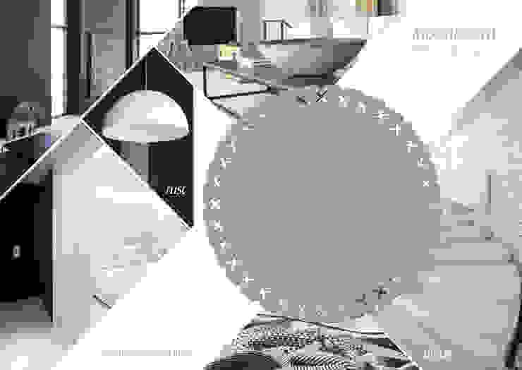 Vloerkleed Kisses in een minimalistisch interieur van Evelien Lulofs Minimalistisch