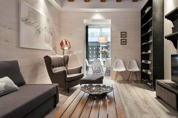 Salón Time2dsign Salones de estilo moderno