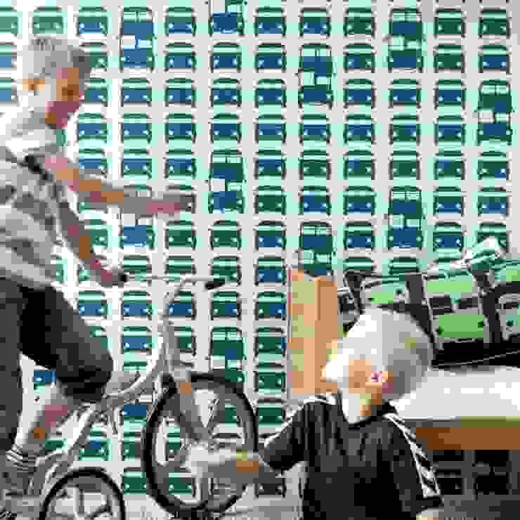 Behang Rush Hour van Ferm Living van De Kleine Generatie Scandinavisch