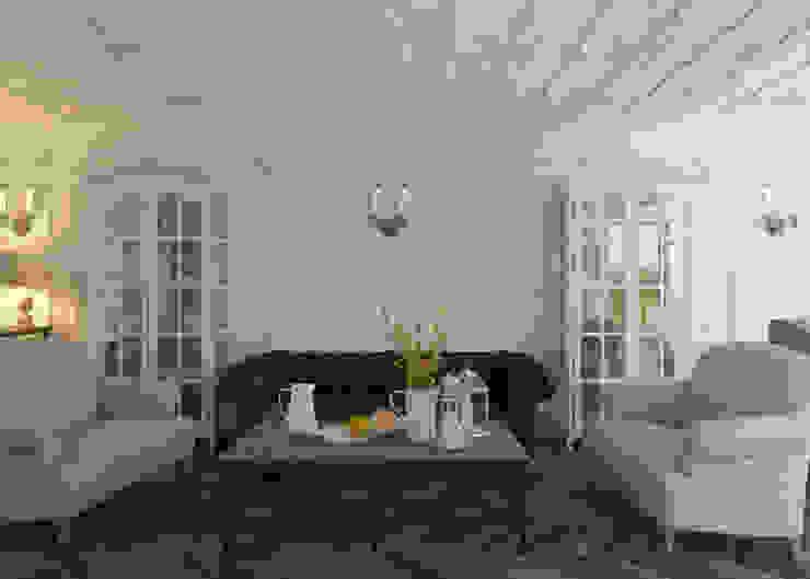 Гостиная Гостиная в классическом стиле от 3D GROUP Классический