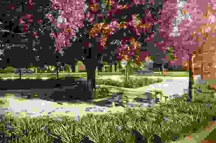 Praça de jogos Jardins campestres por Roncato Paisagismo e Comércio de Plantas Ltda Campestre