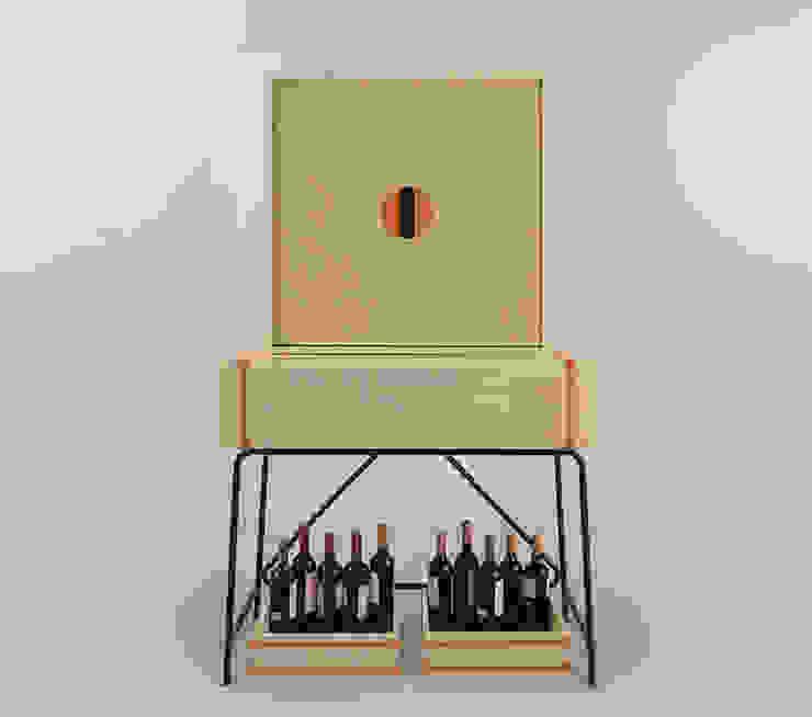Eugenio Aguirre Wine cellar Wood Beige