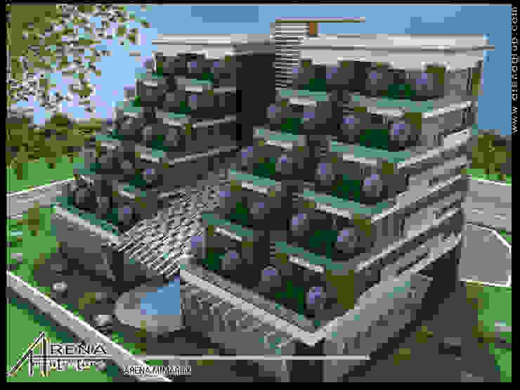 Casas modernas de ARENA MİMARLIK Moderno