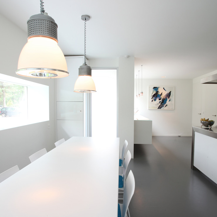 Modern kitchen by Lab32 architecten Modern