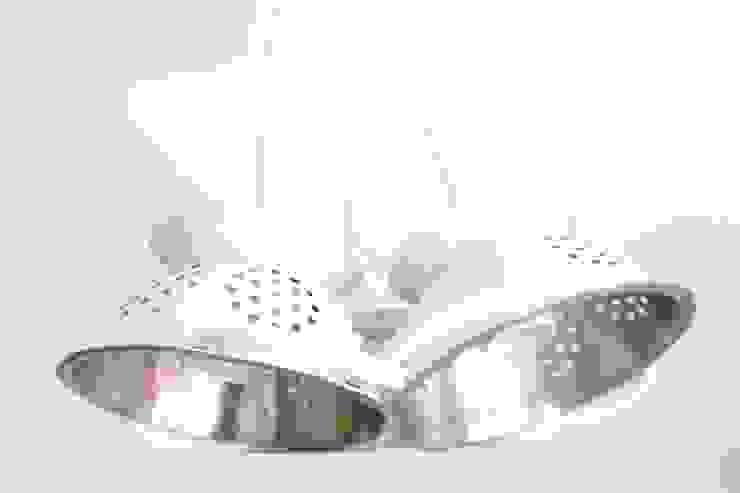 Lampe suspension trio mini passoires par Chez V-Renise Éclectique